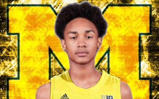 Image for Four star Kobe Bufkin commits to Michigan.