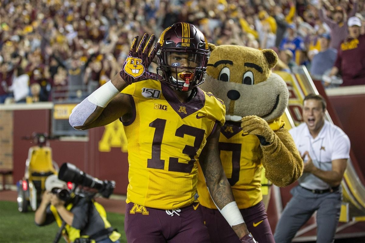 Rashod bateman and the gopher