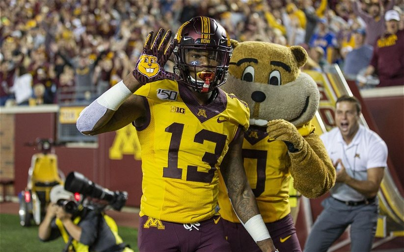 Image for Top Five College Athletes to Watch at the Wide Receiver Position in 2020