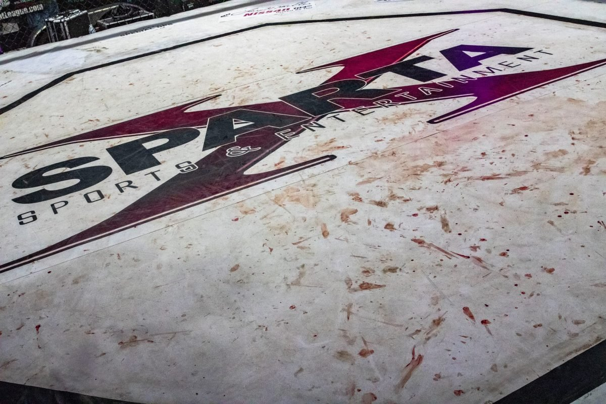 Sparta Sports and Entertainment Bloody Logo