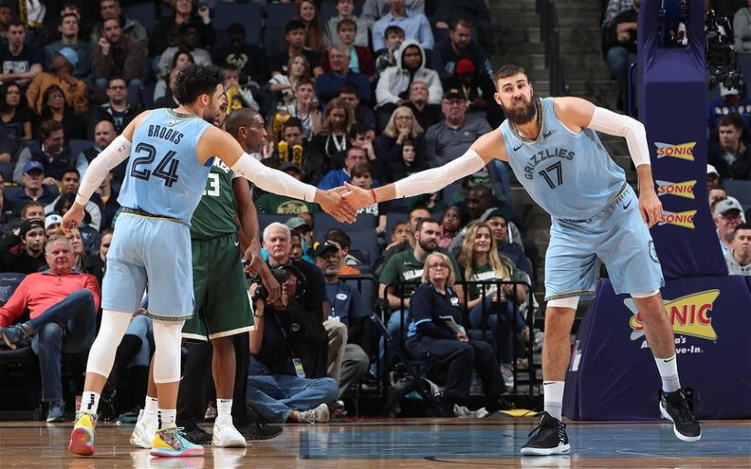 Image for The Grizzlies Get Hot, Battle Through the Bucks and Secure a Spot in The Play In Series