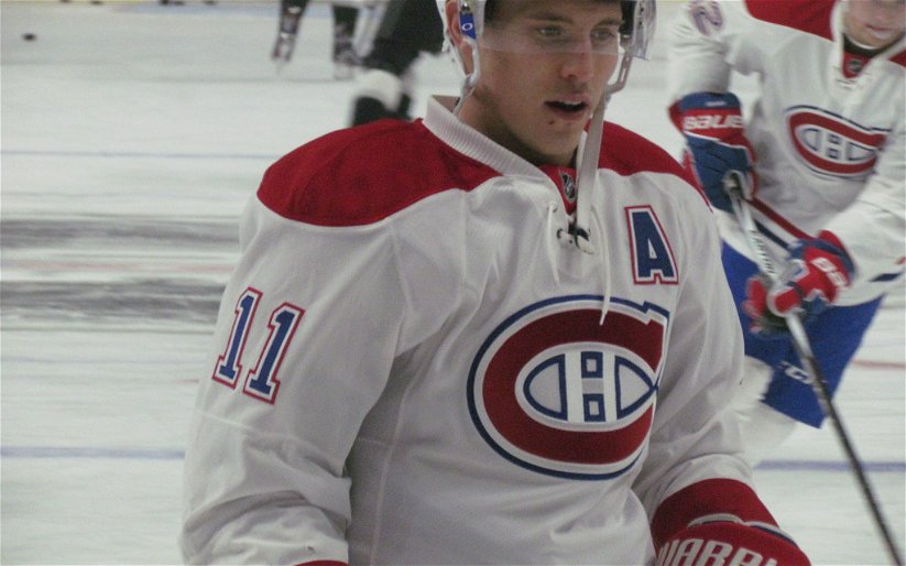 Image for BREAKING: Brendan Gallagher Leaves Bubble With Jaw Fracture.