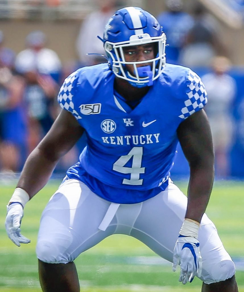 Kentucky Football Josh Paschal