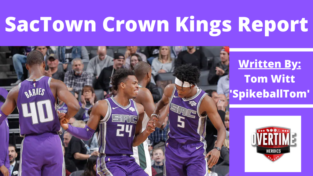 SacTown Crown Kings Report Banner 2