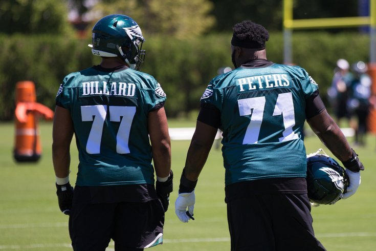 Andre Dillar and Jason peters