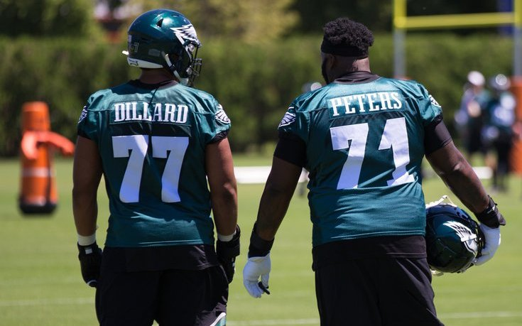 Image for Andre Dillard Suffered Torn Biceps in Practice, Out for Season
