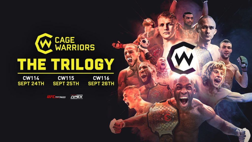 Cage Warriors The Trilogy Poster