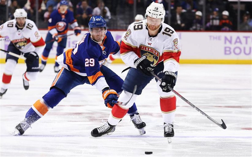 Image for The Florida Panthers Lose Game One Of Qualifying Series