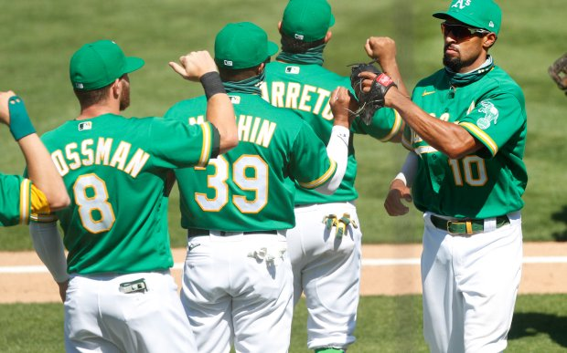 Image for A's Impressive in Sweep of Astros
