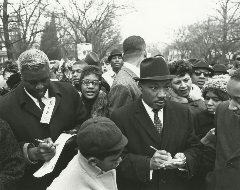 Martin Luther King Jr. and Jackie Robinson.