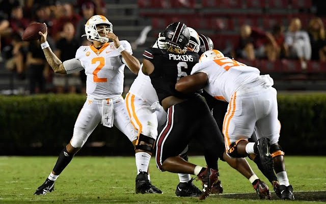 Image for Tennessee Defeats South Carolina in Opener