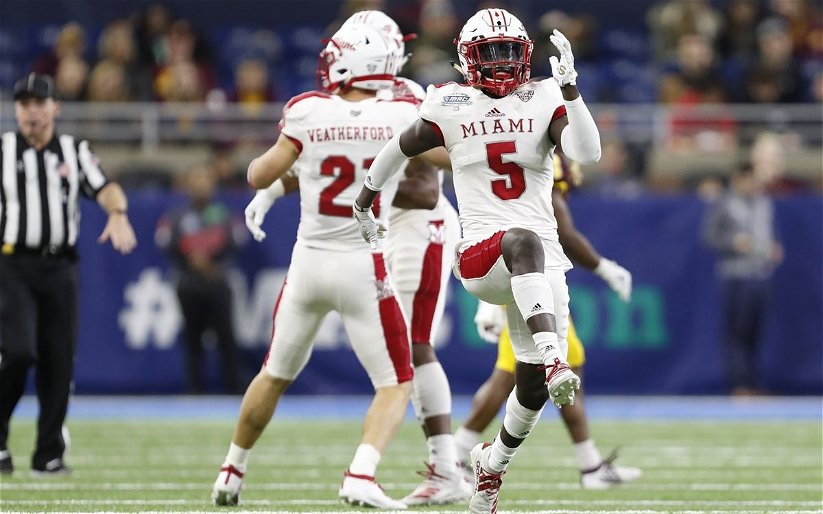 Image for Scouting Report: Manny Rugamba, CB, Miami (OH)