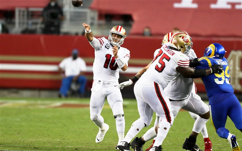Image for 49ers Earn Gutsy Victory Over NFC West Rivals Rams, 24-16