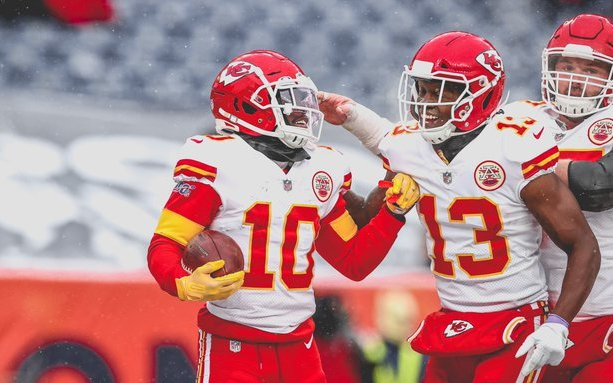 Image for Chiefs Rout Broncos In Snowy Denver, 43-16