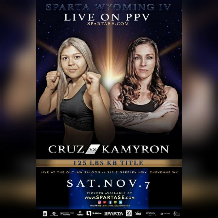 Nikki Cruz vs Khortni Kamyron Fight Poster