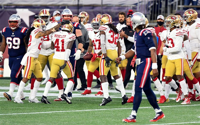Image for 49ers Throttle Patriots 33-6