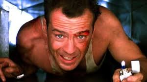 Bruce Willis in an air vent as John McClane in Die Hard | Best action  movies, Best holiday movies, Action movies