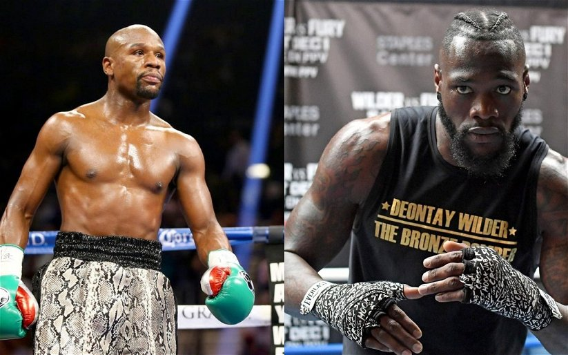 Image for No, Floyd Mayweather, You Can't Make Deontay Wilder Better