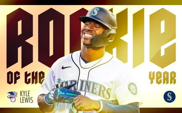 Image for Kyle Lewis Is the 2020 American League Rookie of the Year