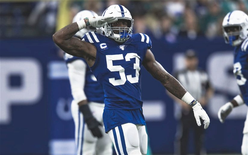 Image for COLTS CRUSH LIONS 41-21 MOVE TO 5-2