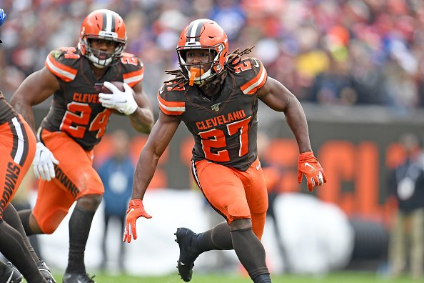 Browns running backs