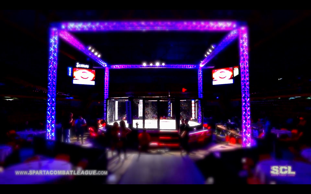 The Sparta Sports & Entertainment Cage.