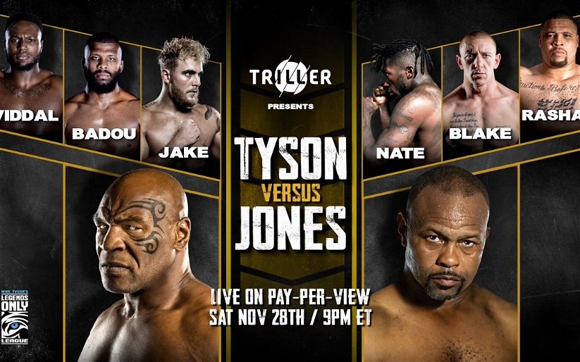 Image for Save Your Money: Mike Tyson vs. Roy Jones Ain't A Real Fight