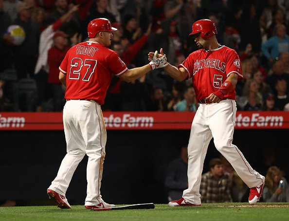 Mike Trout and Albert Pujols are some of the best hitters in MLB from 2000-2020.