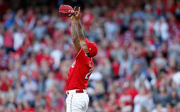 Image for Raisel Iglesias Traded to Los Angeles Angels