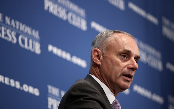 Image for Sadly, MLB Commissioner Rob Manfred Is Staying
