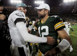 Aaron Rodgers vs. the Eagles