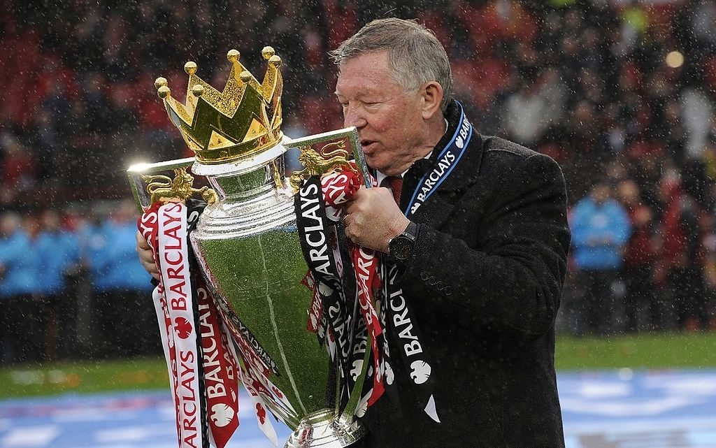 Sir Alex was defending champions 13 times. a true great