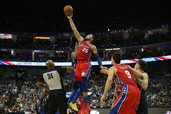 With a 6'10 frame, there is no hope for Ben Simmons and his shooting struggles.