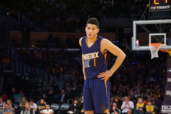 Devin Booker stands out in the week two NBA Power Rankings
