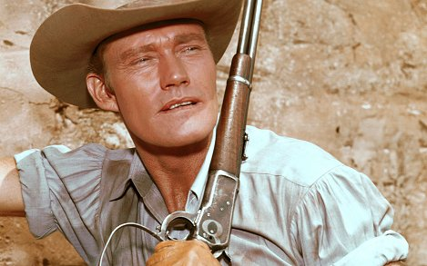 Image for MLB History: Chuck Connors, TV's Rifleman