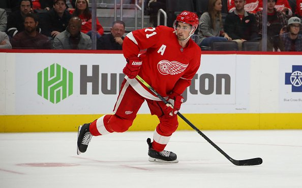 Image for Detroit Red Wings Lose Home Opener 3-0 to Carolina Hurricanes