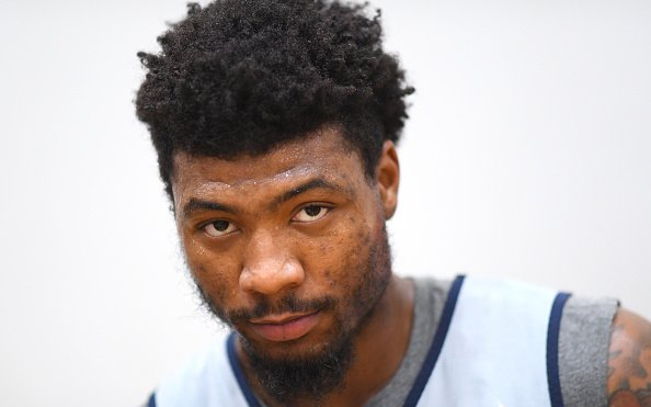 Image for Thankfully Marcus Smart Only Has a Calf Strain