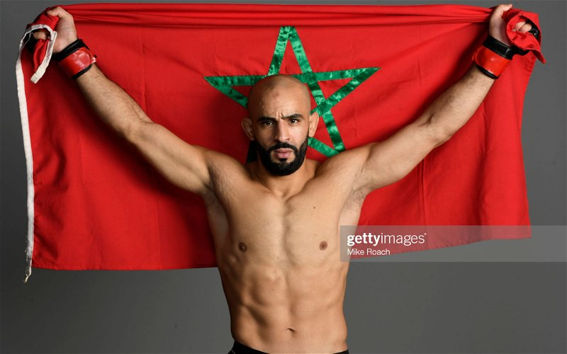 Image for Ottman Azaitar cut from the UFC for breaching COVID-19 protocols ahead of UFC 257