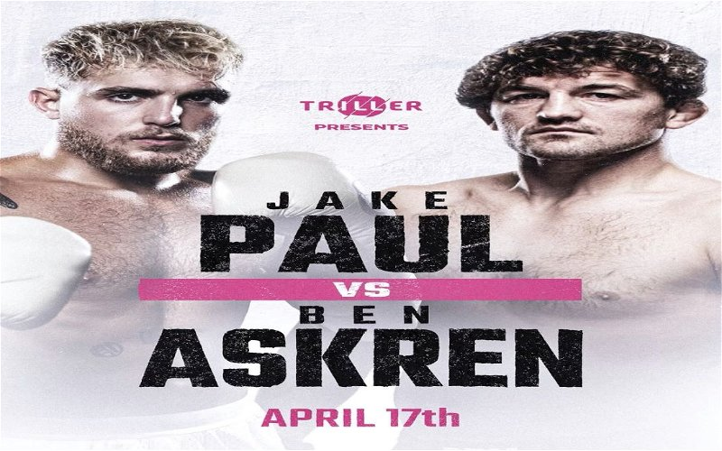 Image for Jake Paul is Scheduled to Face Ben Askren In Pro Boxing Bout