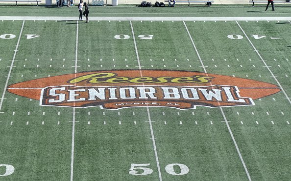 """Image for """"Live"""" at the 2021 Senior Bowl: American and National Rosters are Set"""