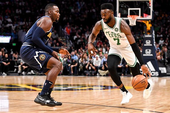Jaylen Brown carries the Celtics into the eight spot of this week two NBA power rankings.
