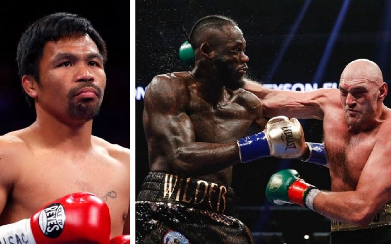 Image for Pacquiao Leads List of Fighters Still Stalled By Covid-19