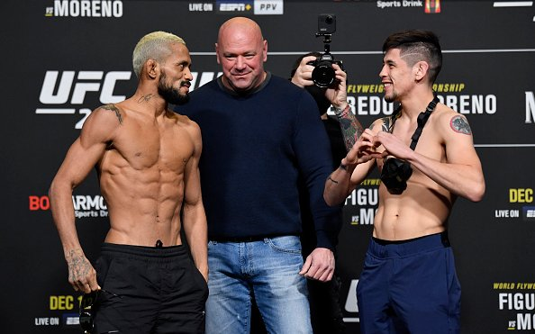 Image for Deiveson Figueiredo vs Brandon Moreno Flyweight Title Rematch Set for June 12th