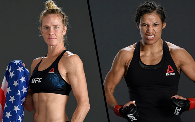 Image for UFC Fight Night 192 Adds Women's Bantamweight Bout Holly Holm vs Julianna Pena