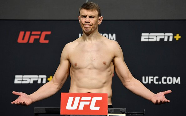 Image for UFC Vegas 20 Weigh-in Results: Grishin Comes in Overweight