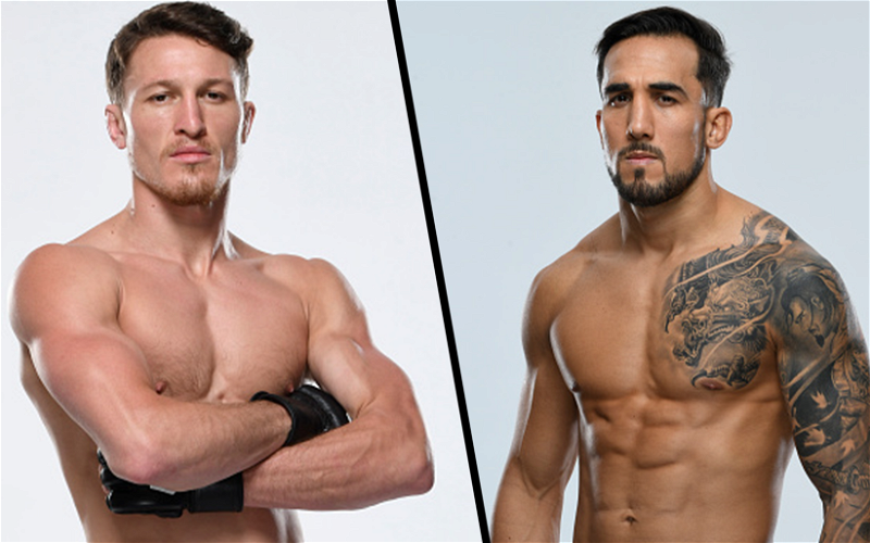 Image for Shane Young and Omar Morales Scheduled To Fight at UFC 260 on March 27