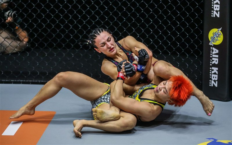 Image for Did Stamp Fairtex Tap? Breaking Down Her Loss Against Alyona Rassohyna