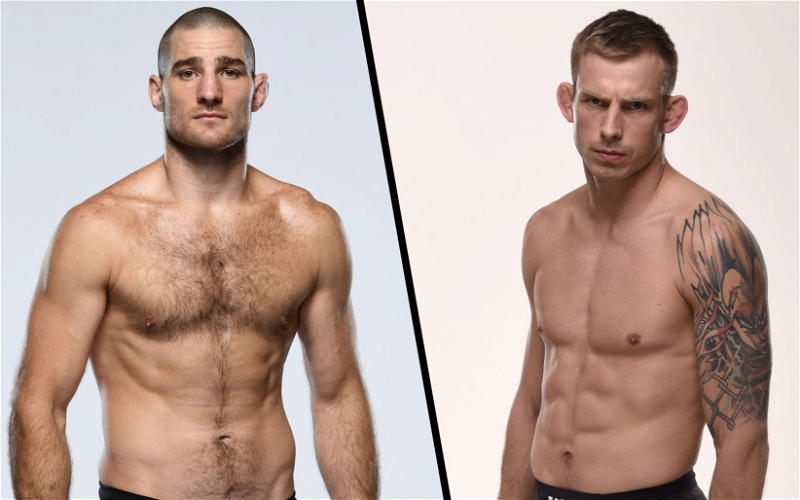Image for Krzysztof Jotko vs Sean Strickland Booked May 1