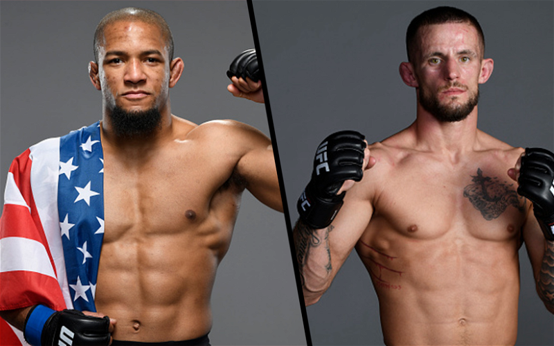 Image for Tony Gravely vs Nate Maness Fight Booked for April 17th UFC Event