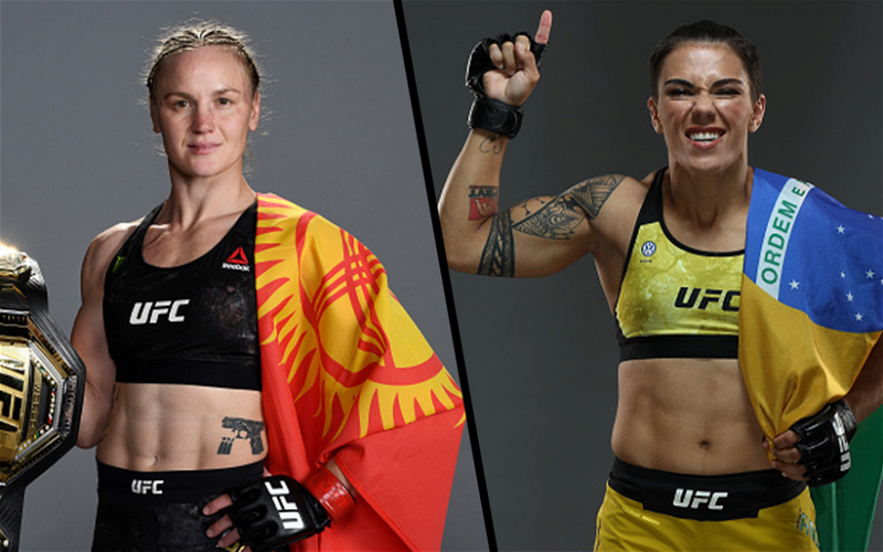 Image for Valentina Shevchenko vs Jessica Andrade Flyweight Title Fight Booked for UFC 261!